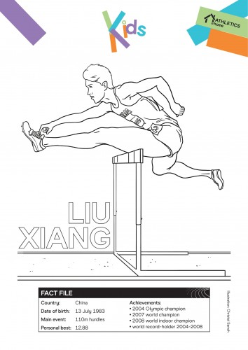 colouring-pages-liu-xiang-and-cathy-freeman-1